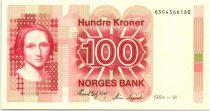 Norway 100 Kroner Cahilla Collett - 1984 - UNC P.43b