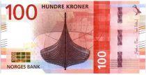 Norway 100 Kroner Viking ship 2016 (2017)