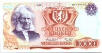Norway 1000 Kroner Henrik Ibsen - 19786 - AU - P.40c