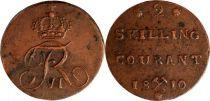 Norway 2 Skilling Frederik VI - Monogram - 1810