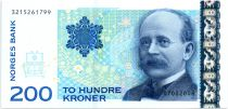 Norway 200 Kroner, Kristian Birkeland - 2006 - a UNC