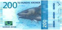 Norway 200 Kroner Cod 2016 (2017)