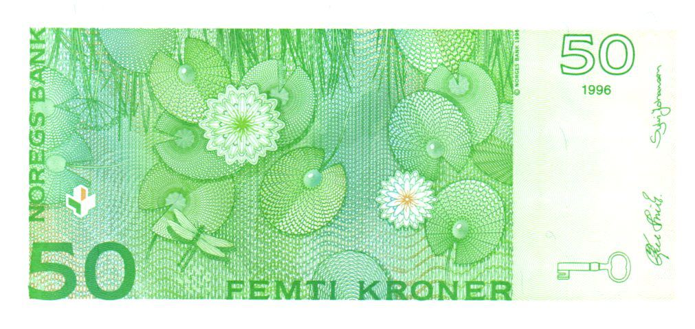 Norway 50 Kroner 1996 - Peter Christen Asbjørnsen