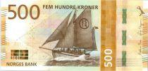 Norway 500 Kroner Boat 2017 (2018)