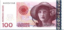 Norway P.49 100 Kroner, Kristen Flagstad - Theatre - 2010