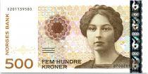 Norway P.51 500 Kroner, Sigrid Undset - 2012