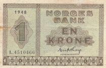 Norwegen 1 Krone 1948