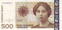 Norwegen 500 Kroner Sigrid Undset - 2005
