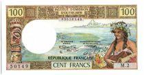 Nouvelle Calédonie 100 Francs Tahitienne - 1973 Série M2