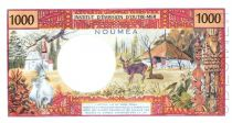 Nouvelle Calédonie 1000 Francs Tahitienne - Hibiscus
