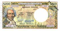 Nouvelle Calédonie 5000 Francs Bougainville - 00/00/1982