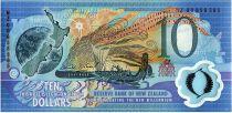 Nouvelle-Zélande 10 Dollars Planète, carte, sports - 2000 Commémoratif