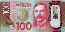 Nouvelle-Zélande 100 Dollars Lord Rutherford of Nelson - Mohua - 2016