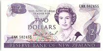 Nouvelle-Zélande 2 Dollar Elizabeth II - Rifleman - 1989