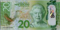 Nouvelle-Zélande 20 Dollars Elisabeth II - Karearea - 2016 Polymer