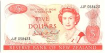 Nouvelle-Zélande 5 Dollar Elizabeth II - Tui - 1989