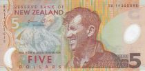 Nouvelle-Zélande 5 Dollars E. Hillary, Mont Everest - Pingouin