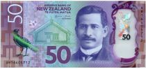 Nouvelle-Zélande 50 Dollars Apirana Ngata - Kokako - 2016 Polymer