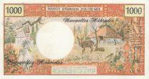 Nouvelles Hébrides 1000 Francs Tahitienne - ND 1975 - Spécimen