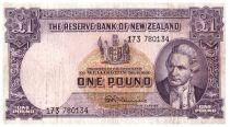 Nueva Zelanda 1 Pound Capt. James Cook - Boat