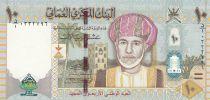 Oman 10 Rials Sultan Q. Bin Said - 40 ans de la Nation - 2010 Hybride