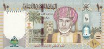 Oman 10 Rials Sultan Q. Bin Said - 40 th National Day - 2010 Hybrid