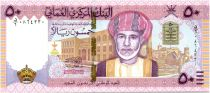 Oman 50 Rials Qaboos Bin Said - 2010 (2019) - UNC - National Day