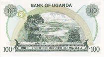 Ouganda 100 Shillings Banque Centrale - Paysage