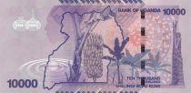 Ouganda 10000 Shillings - Cascade - Bananier - 2015