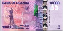 Ouganda 10000 Shillings Cascade - Bananes - 2013