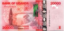Ouganda 20000 Shillings Paysage - Buffles - 2013