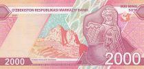 Ouzbékistan 2000 Som 2021 - Neuf