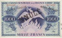 P.16.A 1000 Francs, Phenix - Annulé - 1941 Série TA174535