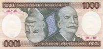 P.201 1000 Cruzeiros, B. do Rio Branco - Machine - 1986 Série B.0772