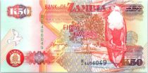 P.37 50 Kwacha, Eagle - Copper refining - 2001