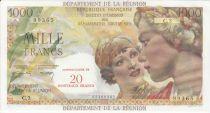 P.55 1000 Francs, Union Française - 1967 Série C.3 - 99365