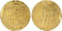 Paesi Bassi 1 Ducat William I - Standing armoiring knight - 1815 - Gold