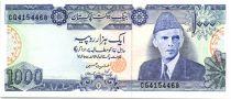 Pakistan 1000 Rupees M. Ali Jinnah - Tombe de Jahangir 1999