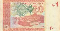 Pakistan 20 Rupee 2012 - M. Ali Jinnah - Mohen jo Daro