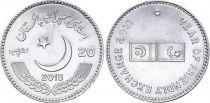 Pakistan 20 Rupees, Amitié Pakistan Chine - 2015