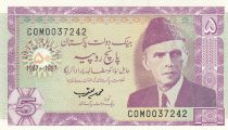 Pakistan 5 Rupee 1997 - M. Ali Jinnah - Ancient Tomb