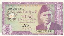 Pakistan 5 Rupee 1997 - M. Ali Jinnah - Tombe ancienne