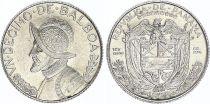 Panama 1/10 Balboas Simon Bolivar - Argent 1962 - UNC