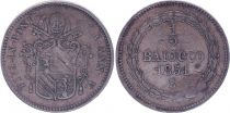 Papal States 1/2 Baiocco  - Pivs IX - 1851 B V