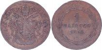 Papal States 1 Baiocco  - Pivs IX - 1850 R V