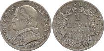 Papal States 1 Lire Pie IX - XXI - 1867 R Rome