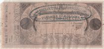 Papal States 10 Scudi - Papal Bank  - 4 Legations - 1853-1855 - XF+