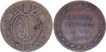 Papal States Mezzo Baiocco - Léon XII 1826 R III