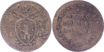 Papal States Mezzo Baiocco - Pivs VIII 1829 R