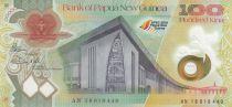 Papouasie-Nouvelle-Guinée 100 Kina Parlement - Evolution économie - 2018 Polymer